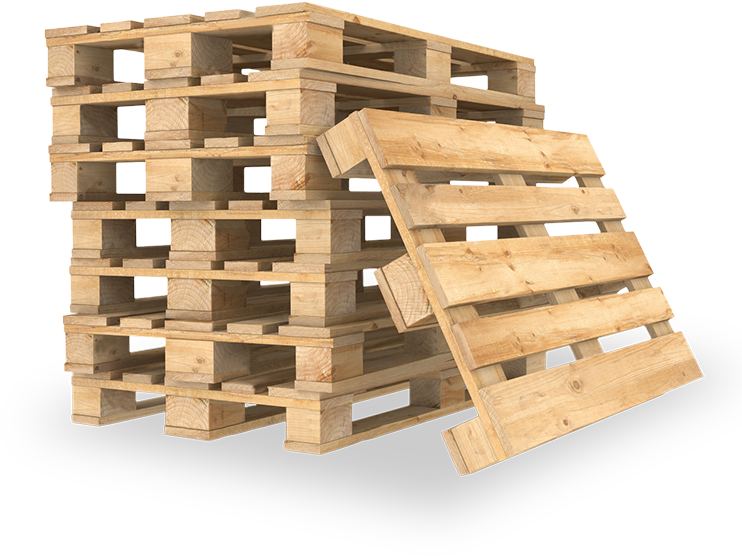 New pallets made to measure / reinforced and semi-new (euro pallets).